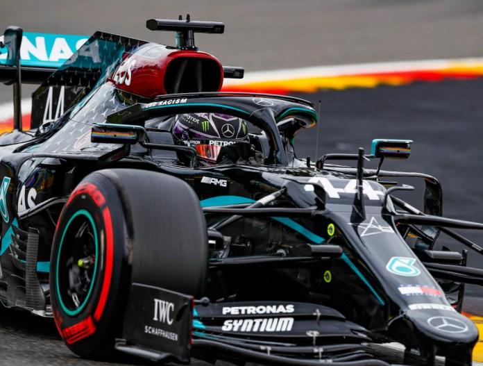 Lewis Hamilton Dedikasikan Pole Position GP Belgia untuk Chadwick Boseman