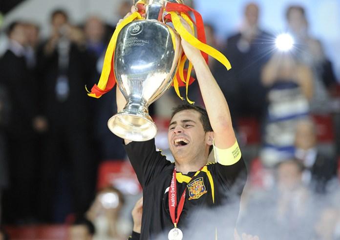 Iker Casillas, Salah Satu Kapten Tim yang Mengangkat Piala Dunia, EURO dan Champions League