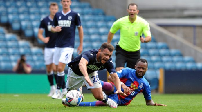 Hasil Pertandingan Milwall vs Crystal Palace - 1 September 2020