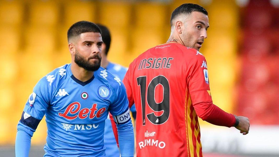 Roberto Insigne Mengaku Bangga Berhasil Mencetak Gol ke Gawang Napoli