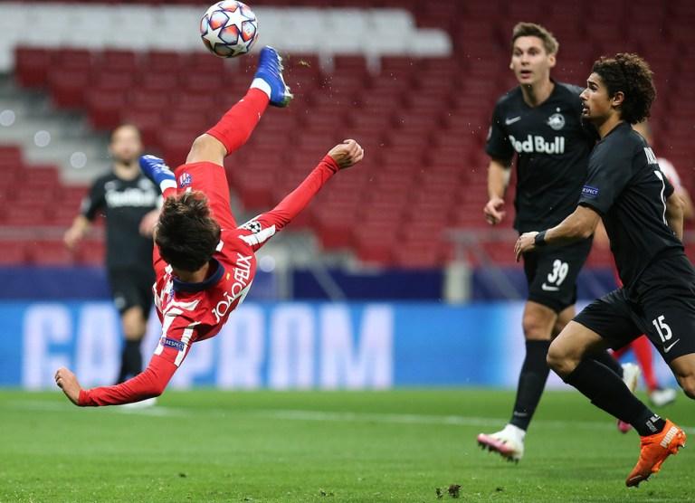 Hasil Atletico Madrid vs RB Salzburg, Joao Felix Bawa Tuan Rumah Amankan Kemenangan