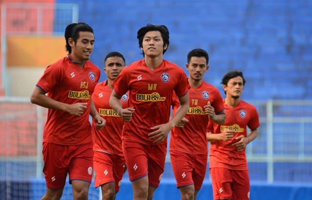 Jadwal Ujicoba Arema Malang Berantakan setelah Pemain Baru Dinyatakan Covid-19