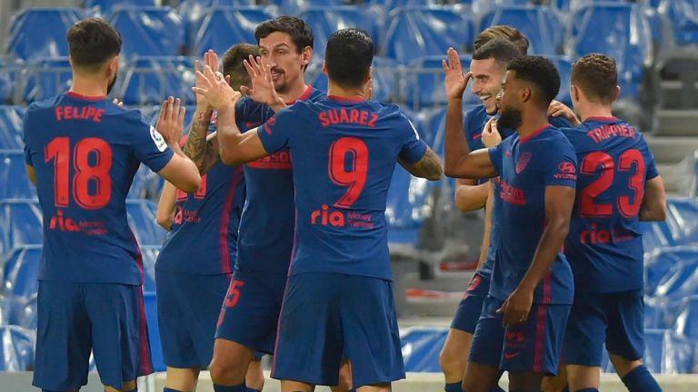 Gol Mario Hermoso dan Marcos Llorente Bawa Atletico Madrid ke Puncak Klasemen La Liga