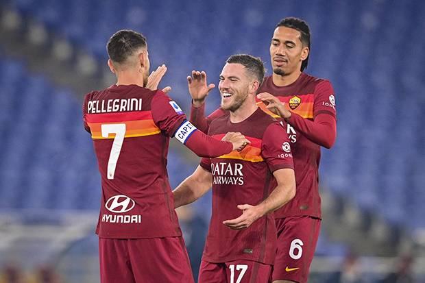 Kalahkan Torino 3-1, AS Roma Naik ke Posisi 4 Klasemen Sementara Serie A