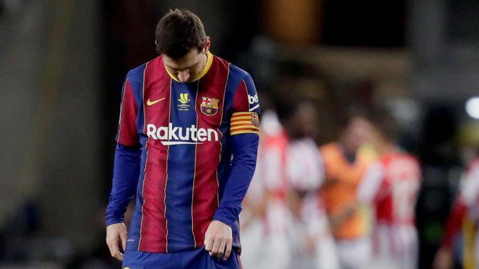 Lionel Messi Dilarang Tampil Dalam 2 Pertandingan setelah Menerima Kartu Merah Perdana