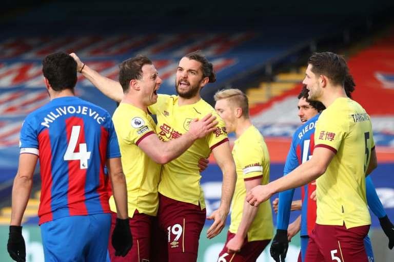 Crystal Palace Takluk Tiga Gol Tanpa Balas dari Burnley