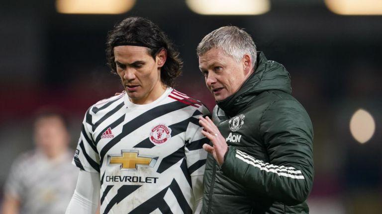 Ole Gunnar Solskjaer Tanggapi Kabar Soal Edinson Cavani yang Tidak Senang di Manchester United