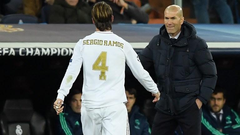 Zinedine Zidane Buka Suara Soal Masa Depan Sergio Ramos