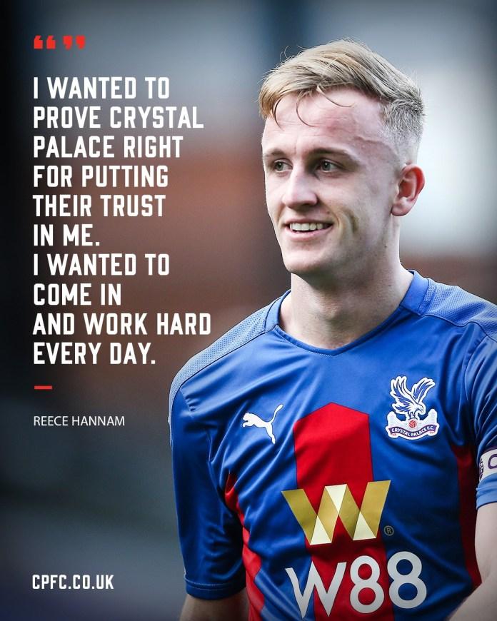 Siapakah Reece Hannam? Temui Bek Muda Crystal Palace di Skuat Tim Utama Baru-Baru Ini