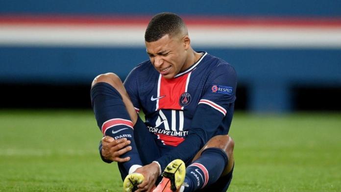 Alami Cedera Betis, Kylian Mbappe Diragukan Tampil di Leg Kedua Semifinal Champions League 2020/21