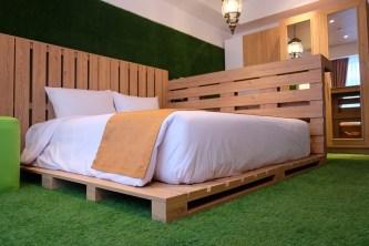 kamar Tematik Yan's House Hotel Bali 4