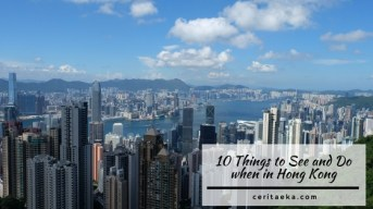 10 Things to See and Do in Hong Kong
