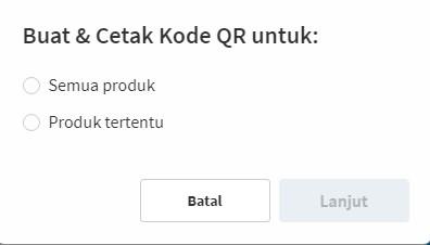 Membuat QR Code Blibli dengan Mudah
