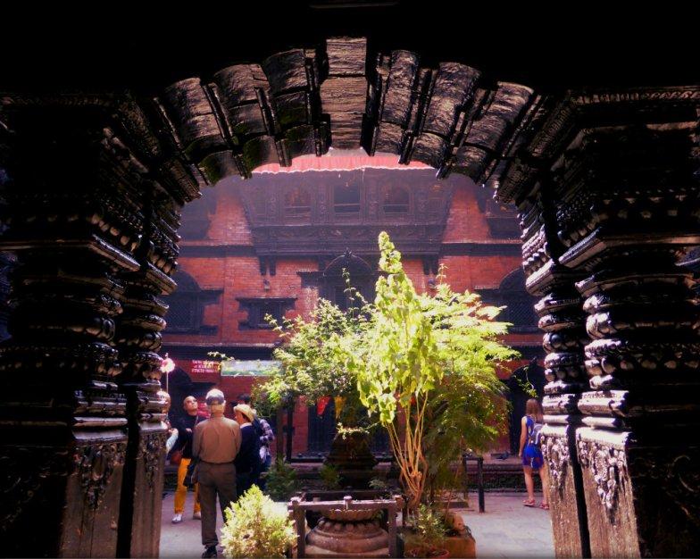 Gate to Kumari Chowk