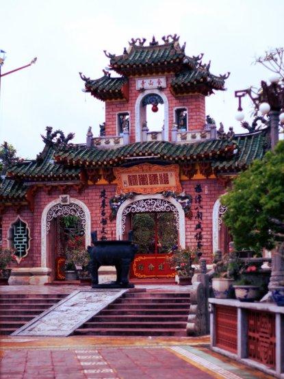 Chua Phuc Kien, Temple dedicated to Thien Hau