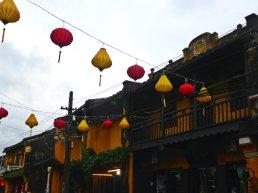Lanterns above the lanes