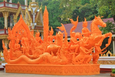 Another Sculpture in Wat Phra That Nong Bua, Ubon