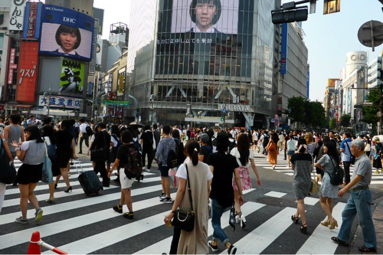 Shibuya Crossing, Tokyo