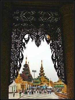 A Corner in Shwedagon, Yangon, Myanmar