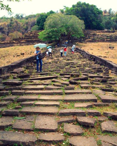 Upper Causeway of Wat Phou