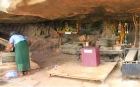 Under the Boulder of Wat Phou