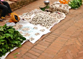 Traditional Market in Bhaktapur