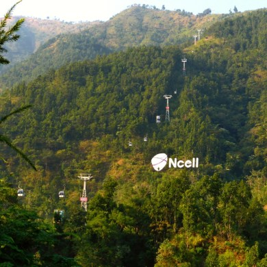 The Cable Cars to Manakamana Temple