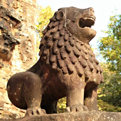 The great Lion, Prasat Tao, Sambor Prei Kuk