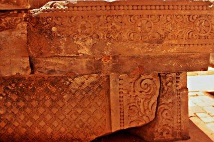 A beautiful carved pedestal
