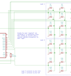 pins 3 10 5 and 8 will be connected to the other two layers pins 1 12 and 13 will be connected to the microcontroller s spi interface  [ 1510 x 1022 Pixel ]