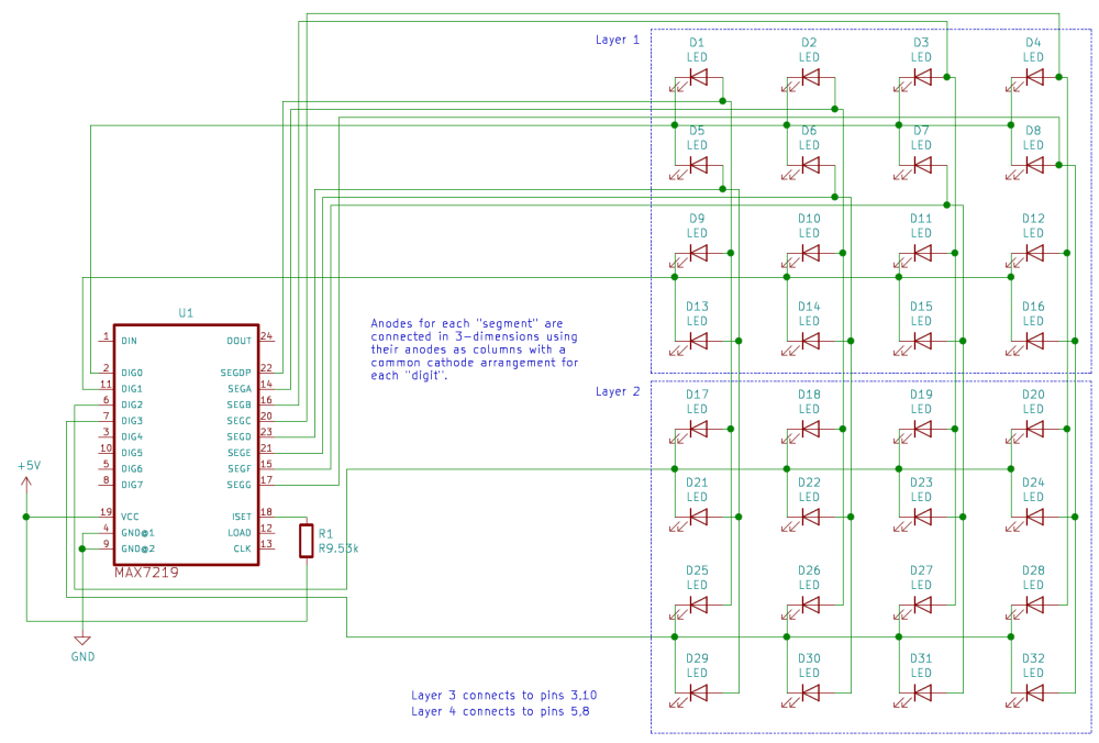 medium resolution of pins 3 10 5 and 8 will be connected to the other two layers pins 1 12 and 13 will be connected to the microcontroller s spi interface