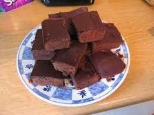 brownies para celiacos