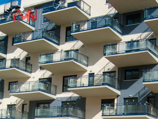 Barandillas Aluminio y Balcones Aluminio CristalCMH