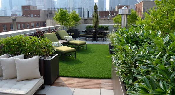 Ideas para jardin en terraza o tico  Blog Cerramientos