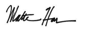 Matthew Harms SIgnature