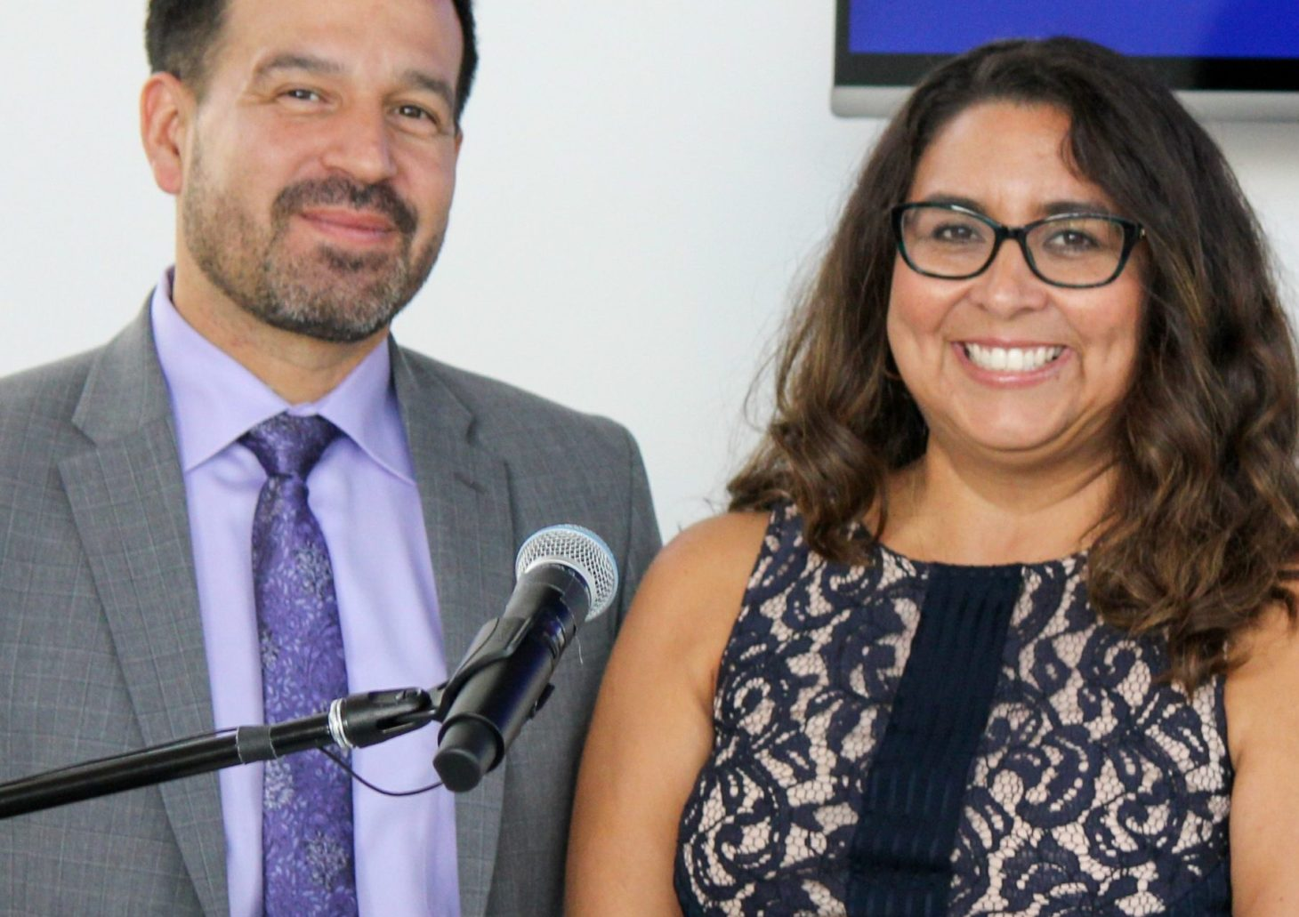Dr. Jose Fierro and Marisa Perez