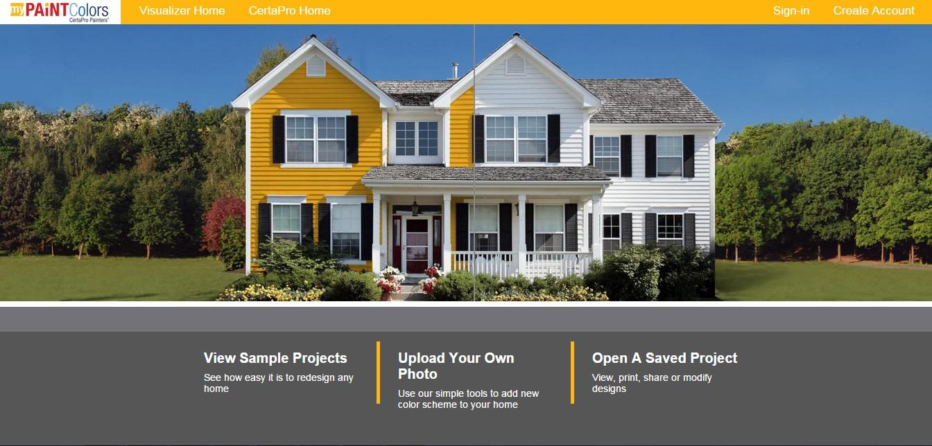 Virtual House Painter House Paint Simulator CertaPro Painters®