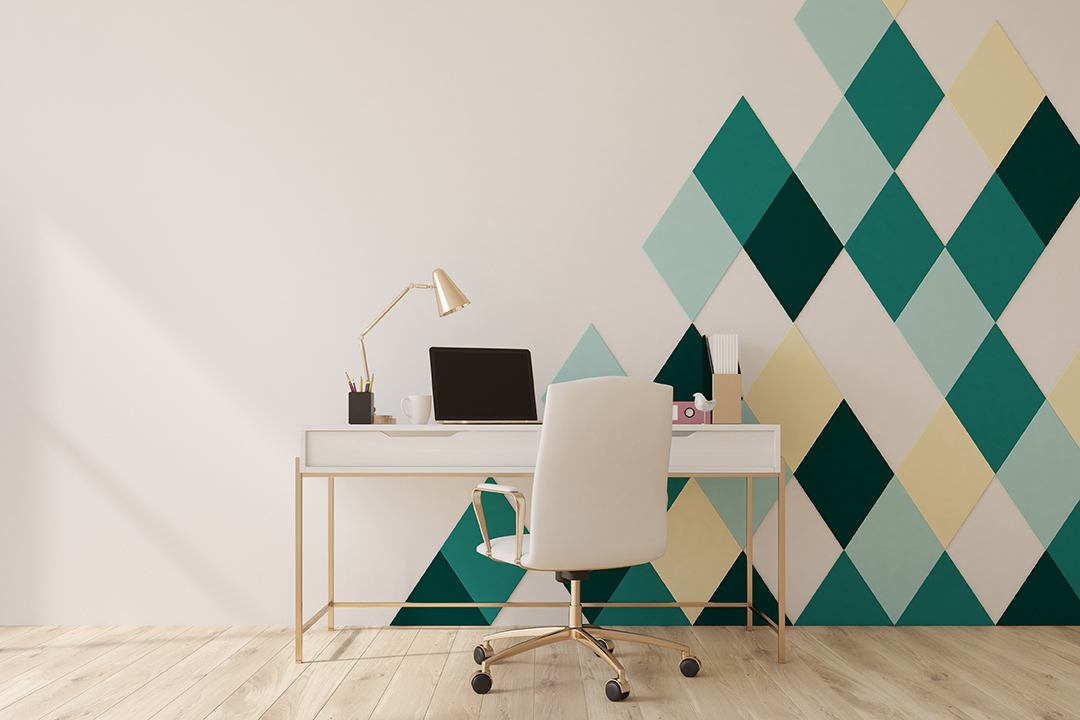 Shape Up Your Walls By Painting Geometric Patterns Certapro Painters