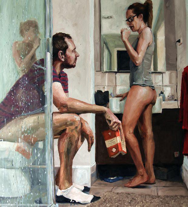"""Bathroom Selfie"", James Needham, 2016."