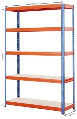 etagere metallique pour garage charge max par tablette 200 kg h x l x p 1 780 mm x 1 200 mm x 400 mm