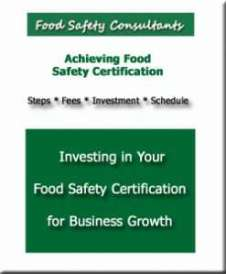 A free food safety report showing time, investment and benefits.