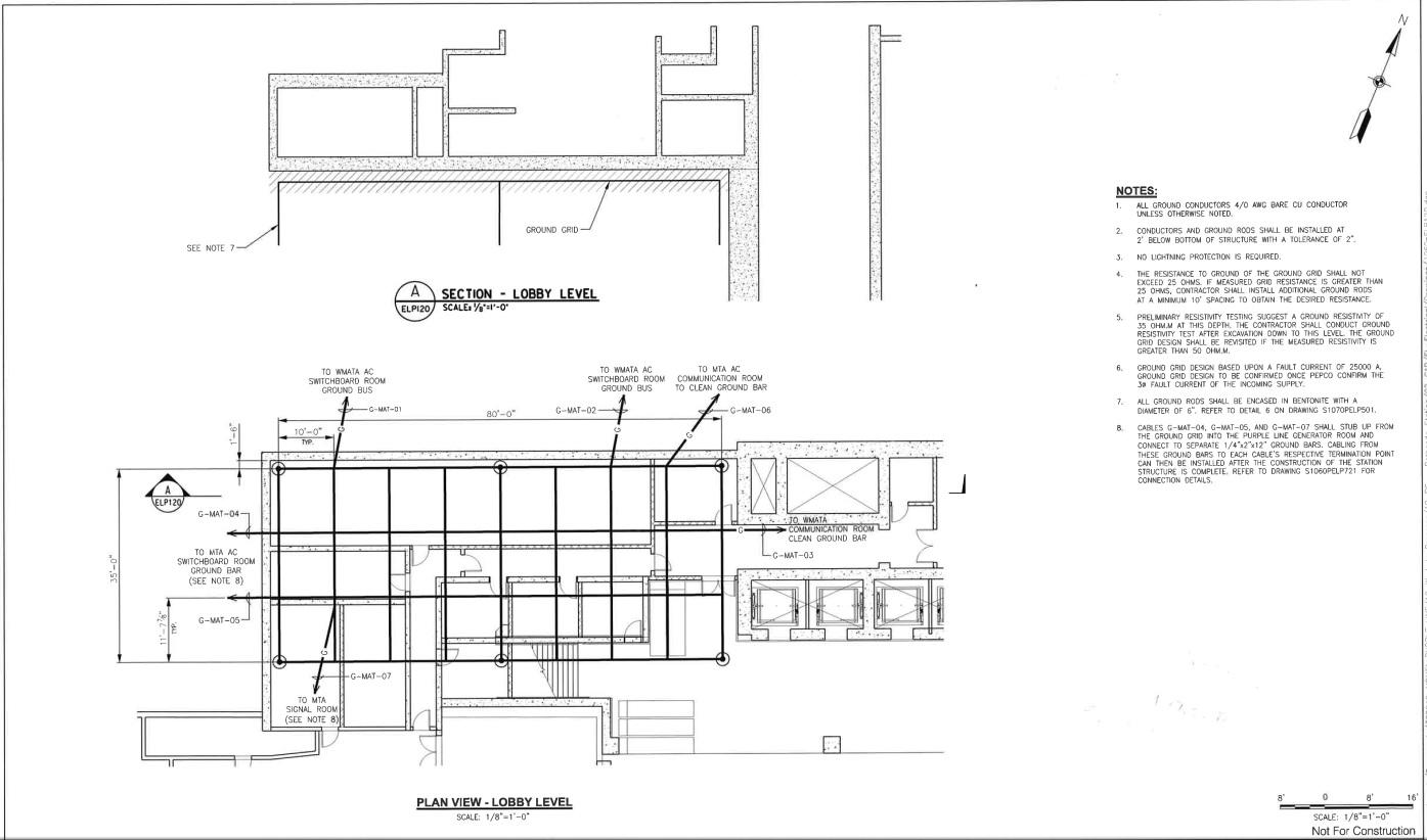 Bethesda Station Grounding Electrical Engineering
