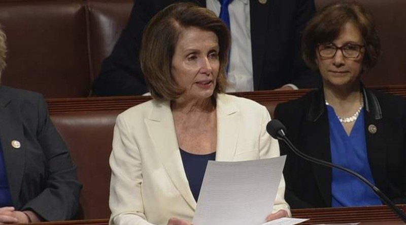 Pelosi tries to Alter the Law so Sitting President can be Indicted