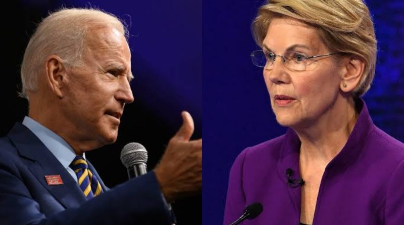 Joe Biden launches blistering personal attack on Elizabeth Warren