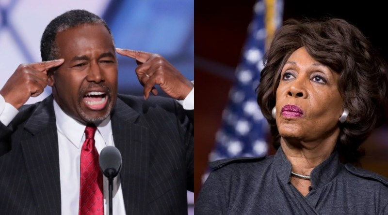 """You lack Basic Manners"" Ben Carson blast Maxxine Waters"