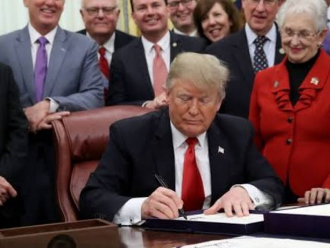 President Trump signs Historic bill making cruelty to Animals a Federal crime