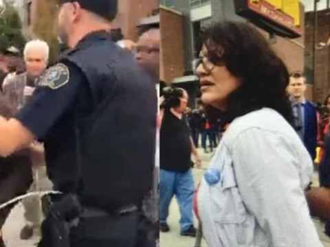 BREAKING - REP. RASHIDA TLAIB ARRESTED BY AIRPORT SECURITY AMID PROTEST