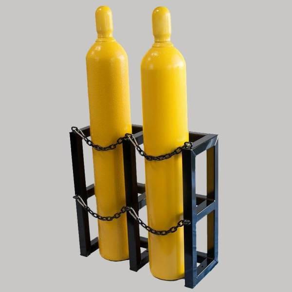 1d2w Gas Cylinder Storage Racks - Certified Medical