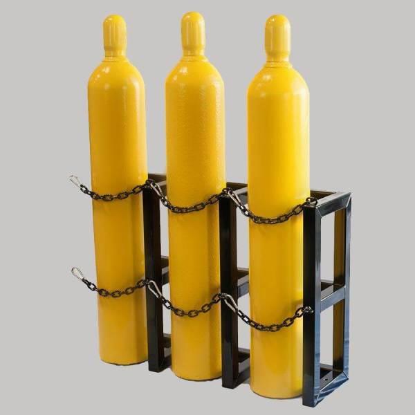 1d3w- Gas Cylinder Storage Rack - Certified Medical