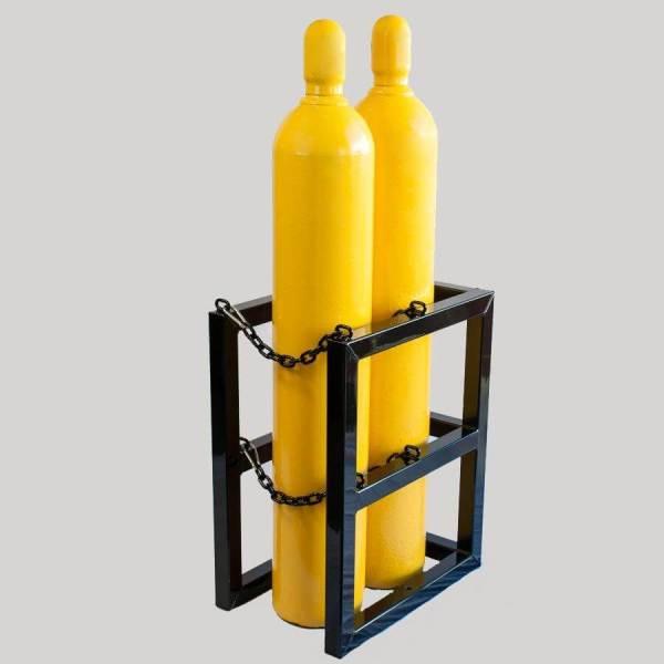 2d1w Gas Cylinder Storage Rack - Certified Medical